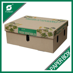 PAPER BOX FOR VEGETABLE, VEGETABLE PACKAGING BOX