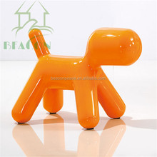 2015 Modern Fiberglass dog shape lounge Chair