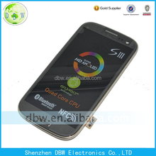 High quality Mobile Phone Lcd Touch Screen For Samsung Galaxy S3 I9300,For Samsung Galaxy S3 I9300 I9302 I9305 I9308 Lcd