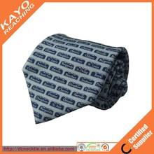 custom your style printed silk necktie