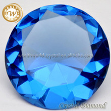 blue crystla diamond jewel