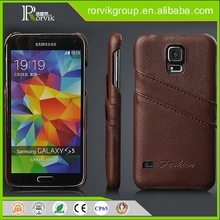 5s tpu cell phone case real wood with pc case for SAM S5