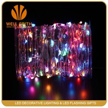 Wedding Party Decor Lights Color RGB 10M 100LED Copper Wire LED String Light
