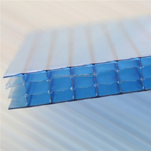 color corrugated plastic roofing, color hollow polycarbonate twinwall sheet roofing