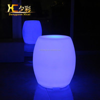 Lighted Chargeable Cordless Plastic LED Chair