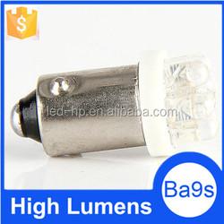 T4W 233 1895 H6W 7LED Car Vehicle White Light High Quality Ba9s Led Bulb