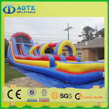 Hot seller funny inflatable games inflatable slip and slide