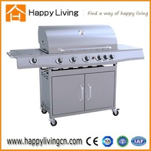 commercial kitchen gas grill,big barbecue gaz