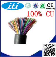 OEM factory 50 100 200 pair telephone cable our own copper material 200 pair telephone cable