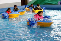 High quality Aqua paddler boat/ water paddler boat for kids fun for sale