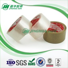 adhesive corrugated case packing crystal clear packaging tape