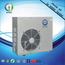 air to water EVI low ambient heat pump for fish pond use for house heating cooling and hot water