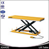 500kg Large Platform Hydraulic Scissor Electric Motorcycle Lift Table for Sale