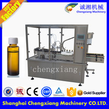 Easy opeation 15ml auto tabletop bottle filling machine