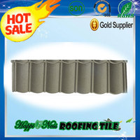Double rainbow stone coated metal roofing tiles in China / Cheap price but good quality roof tile