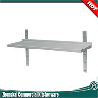 factory direct sale 3 layers restaurant kitchen stainless steel shelves