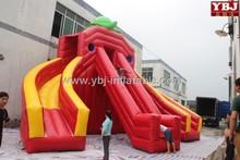 Inflatable cartoon slide/ red Inflatable Slide, Inflatable Climbing slide