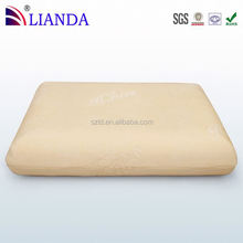 Zipped micro-fiber cover is plush and soft + removable for washing orthopedic pillow