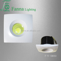 Mini downlight 1W / 3W LED Cabinet Light,modern ceiling dimmable led spot light