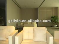 Movable partition wall for Hotel