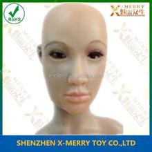 X-MERRY LATEX REALISTIC FEMALE DISGUISE FANCY CROSS DRESS RUBBER HEAD WOMAN LADY MASK FX