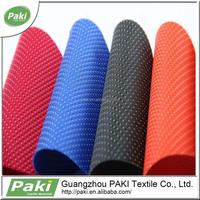 hot sale 420D dot jacquard oxford PVC coated fabric, luggage fabric