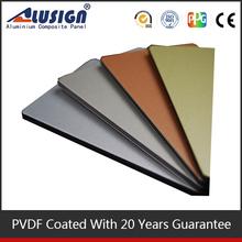 China aluminum windows and doors acp sheets heat resistant wall panels