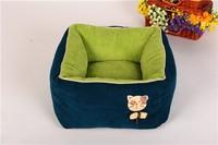 Cute Square Shape Pets Pad Luxury Pet Dog Beds