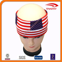 2015 new products of country flags soft fashion Lycra headband