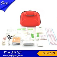 Welcome OEM ODM fashion colorful pp box first aid kit for burns