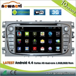 Universal android touch screen 2 din 7 inch in dash detachable tablet car dvd player with 3g wifi dvd mp3 mp4 camera gps