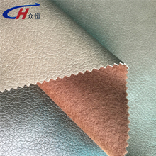 15% pu and 85% polyester pu leather for diary cover, sofa, upholstery, bag,shoes and so on