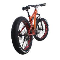 high quality 26''4.0 fat rim oscar mtb bike