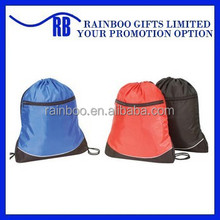 Hot selling logo printed cheap polyester promotional nylon drawstring bag ,drawstring bag for promotion,cheap drawstring bag