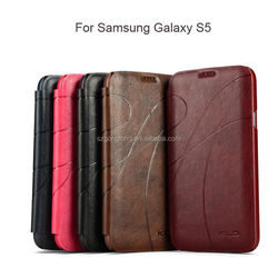 5 Colors Luxury Leather Stand phone case samsung galaxy s5 case