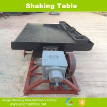 China manufacturer 6-S gold wash shaking table