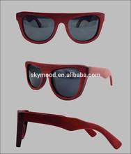 gafas de sol personalizadas de madera de 2015 marcos de anteojos para hombres