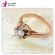 wholesale alibaba white diamond cut zirconia mosaic ring plating gold jewelry
