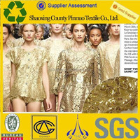 2015 free sample nice wholesale sequin fabric india for sale