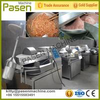 Automatic meat cut mixing machine/meat bowel cutter mixer/meat chopper mixer machine