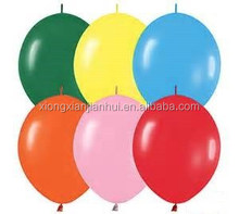 high quality durable rubber latex air balloon factory quick link balloons party decoration wholesale sound price