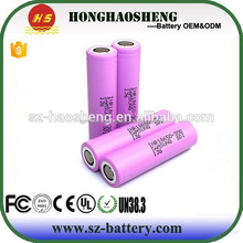 100% Original Samsung INR18650-30Q 18650 3.7V 3000mah high power battery Samsung rechargeable ecig mod 18650 30Q battery