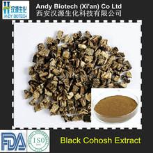 Natural Black Cohosh Root Extract 20:1 Black Cohosh Powder