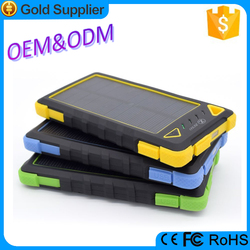 2015 newest tendency solar energy portable power bank for laptop