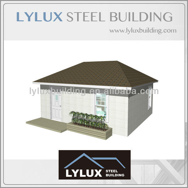 Easy Assembly House Cheap Steel Frame Prefab Homes View