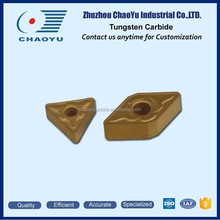 Long Life Cemented Carbide Indexable Insert with Holes