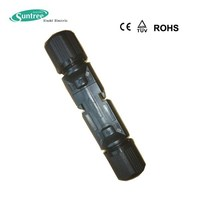 Snap in locking system solar connector MC4 solar cable connector IP67 TUV approved