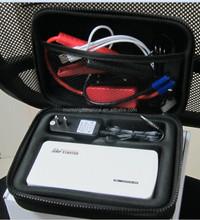 2014 new portable multi-function emergency jump starter 12V 8000mAh