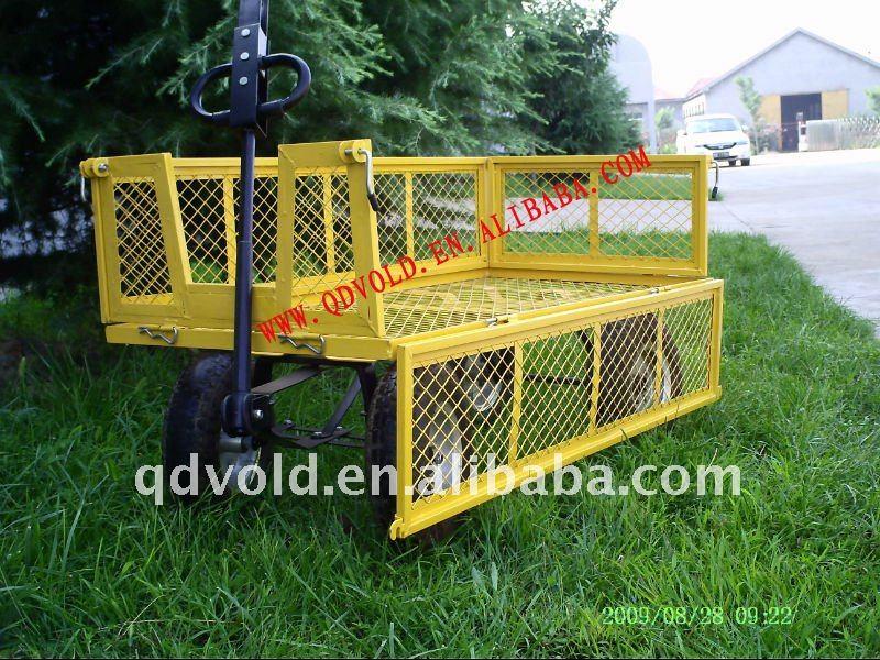 4 Wheel Push Cart Hand Push Cart 4 Wheel