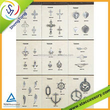 Own Manufacturing Metal Charm, wine glass charm boxes